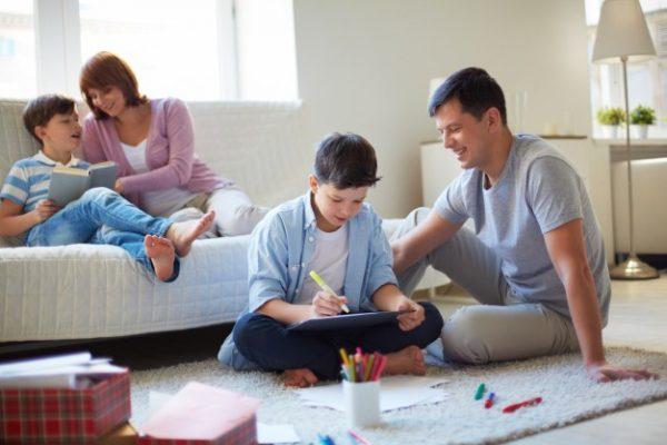 Kaip padėti vaikams mokytis?